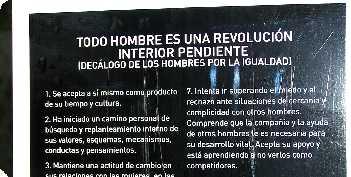 Todo hombre es una revolución interior pendiente